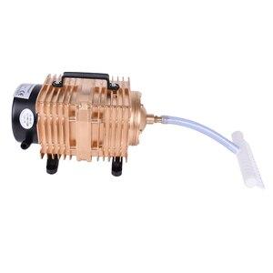 Image 5 - Bomba de aire electromagnética para acuario de peces, bomba de aire de compresor de oxígeno, 145L /min, 0.040Mpa, 160W, CA 220 V