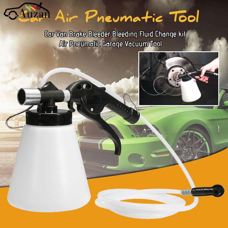 Цена за 90-120 psi Автомобилей Ван Тормозные Bleeder Кровотечение Жидкости Набор для Замены Воздуха Пневматический Гараж Вакуумный Инструмент