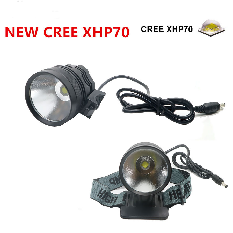 New LED Headlamp USB Charge 4000Lumens headllight CREE XHP70 bike light Bicycle Light Lamp headlight lampe