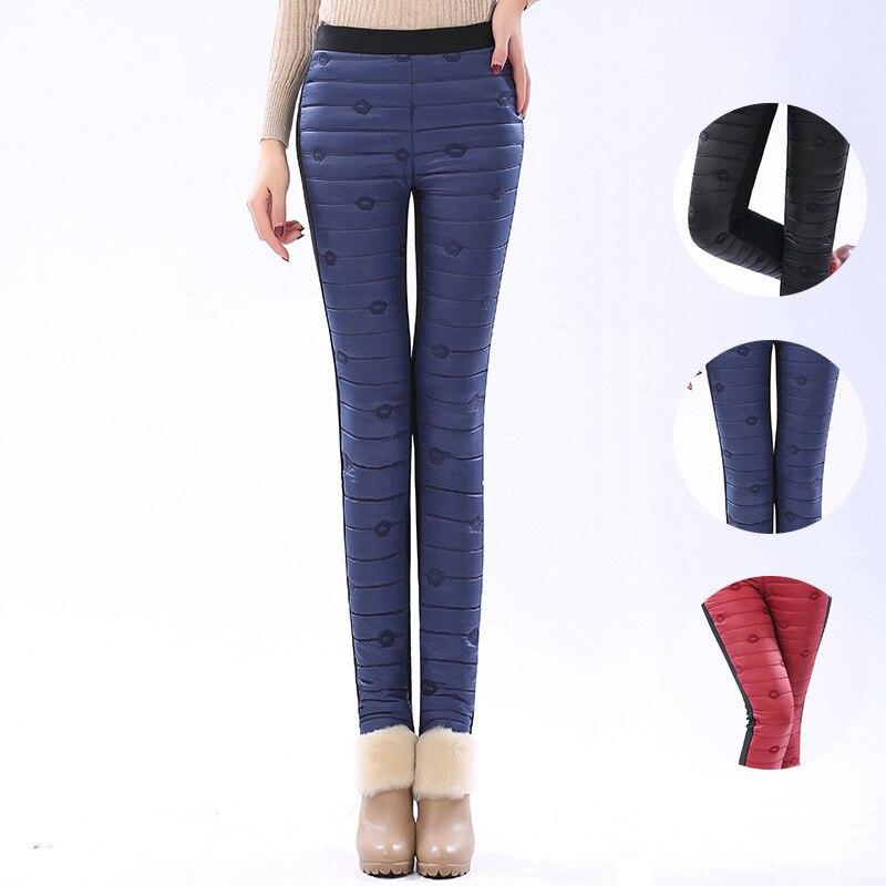 c40b0ce026 HIGH QUALITY best warm plus size korean fashion leather women clothing XXXL  winter snow pants women S XXXL-in Pants   Capris from Women s Clothing on  ...