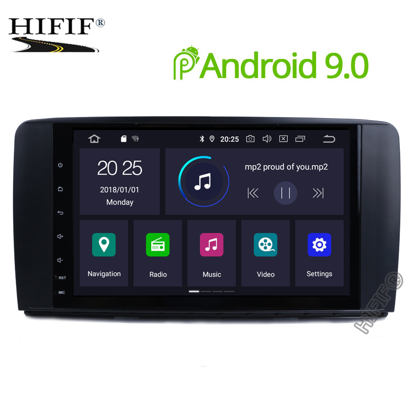 IPS 2 Din Auto Radio Android 9.0 For Mercedes/Benz/AMG R Class W251 R300 R350 R63 Car Multimedia Video DVD Player GPS DVR FMIPS 2 Din Auto Radio Android 9.0 For Mercedes/Benz/AMG R Class W251 R300 R350 R63 Car Multimedia Video DVD Player GPS DVR FM