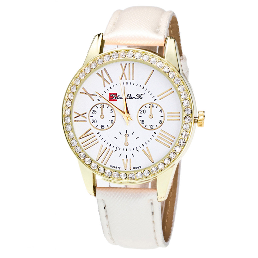 Bracelet Watch Strap Candy-Color Female Ladied -4a29fn
