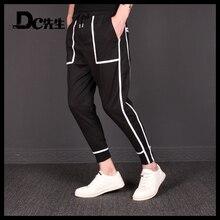 Летний Стиль, узкие брюки от harlan nine minutes, стильные брюки из пеньки, белые полосатые штаны для отдыха, M-6XL