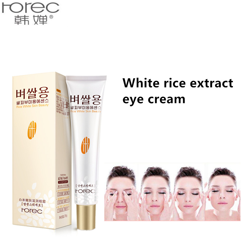 White rice moisturizing eye cream Beauty Skin Care faced Instantly Ageless Anti Aging Anti Wrinkle Remove Dark Circle Whitening