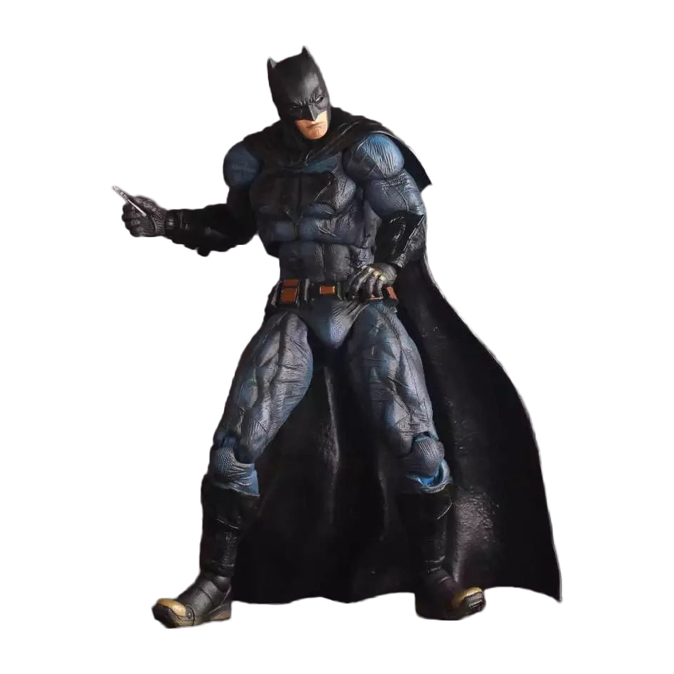 XINDUPLAN DC Comics Justice League Anime Batman Superman Scale Collectible Action Figure Toys 20cm PVC Kid Collection Model 0594 xinduplan dc comics play arts kai justice league batman reloading dawn justice action figure toys 25cm collection model 0637