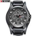 2016 CURREN Mens Relógios Top Marca de Luxo Moda Casual Esporte Relógio de Quartzo Homens relógio de Pulso Militar Relógio Masculino Relogio masculino