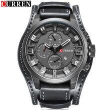2016 CURREN Mens Relojes de Primeras Marcas de Lujo Moda Casual Sport Hombres del Reloj de Cuarzo Militar Reloj reloj Masculino Del Relogio masculino