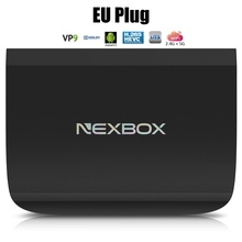 NEXBOX A1 Android 6.0 Smart TV Box 4 K VP9-10 2G 16G Amlogic S912 Octa Core H.265 2.4 GHz 5.8 GHz Double WiFi BT4.0 KD Media Player