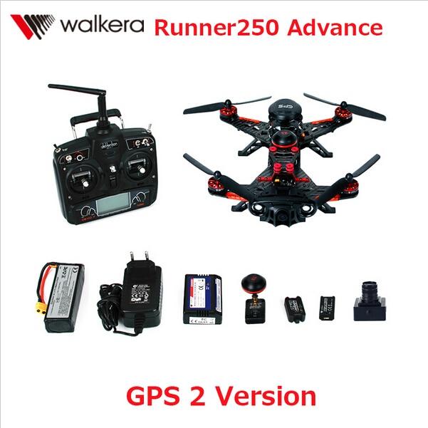 Walkera Runner 250 предоплата с 1080 P Камера Racer Радиоуправляемый Дрон Quadcopter RTF с Дево 7/OSD/Камера GPS 2 версии f16181