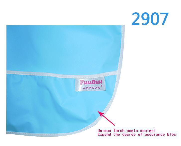 FREE SHIPPING FUUBUU2907-YELLOW-3PCS Adult Bib / Old People Bib / Patients Eat With Cloth/The Patient Bib