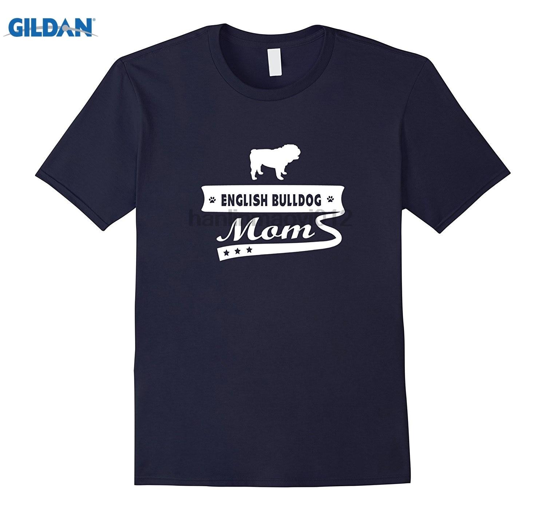 Возьмите Английский бульдог мама собака Для женщин животных, собак футболка Летнее платье-Футболка женская футболка Горячая Для женщин фут...