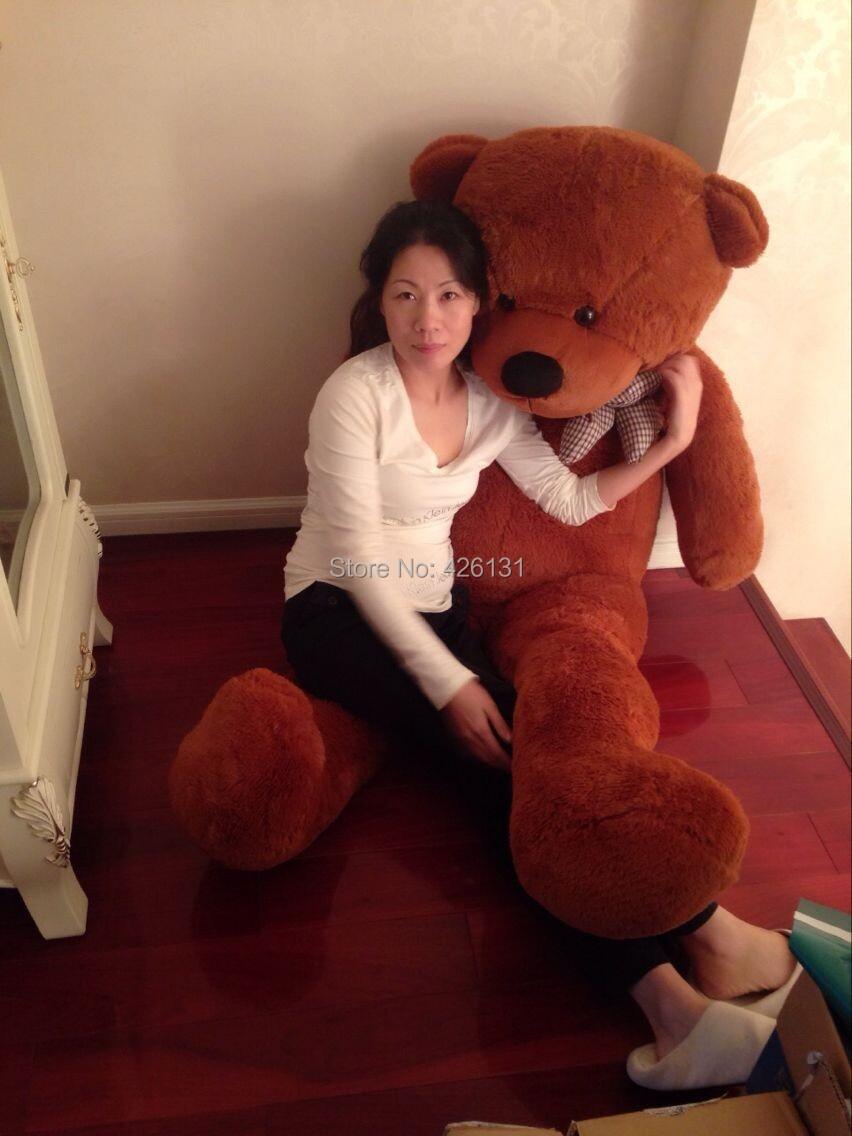 Wholesale Bear Enclosure Teddy Bear Fur Shell Plush Toy