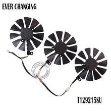 Nieuwe 87MM Everflow T129215SU DC 12V 0.50AMP 4Pin 4 Wire Cooling Fan Voor ASUS GTX980Ti R9 390X390 GTX1070 Videokaart Fans(China)