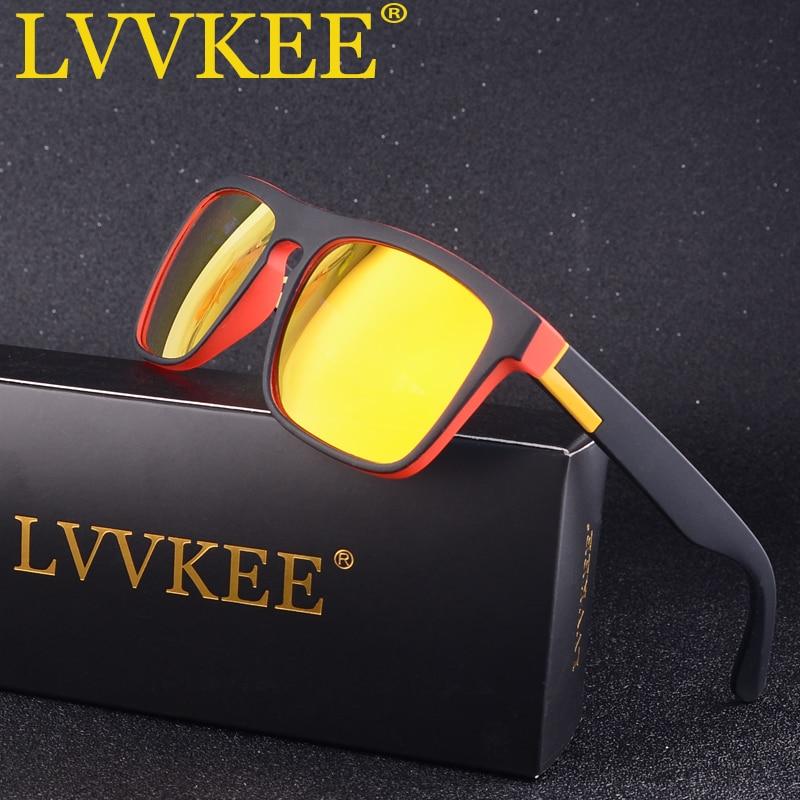 Hot LVVKEE 2019 Polarized Men's Sunglasses Classic Design Mirror Driving Sun Glasses For Male Summer UV400 Oculos Quick Shipping