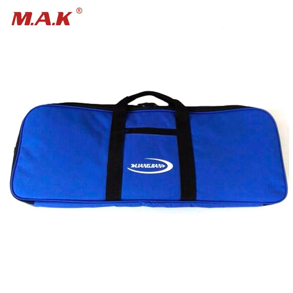 1 шт. синий изогнутый лук сумка 66*24*6 см Водонепроницаемый и ПВХ покрытие для изогнутый лук внутренняя мягкие плюшевые Ткань синий лук сумка