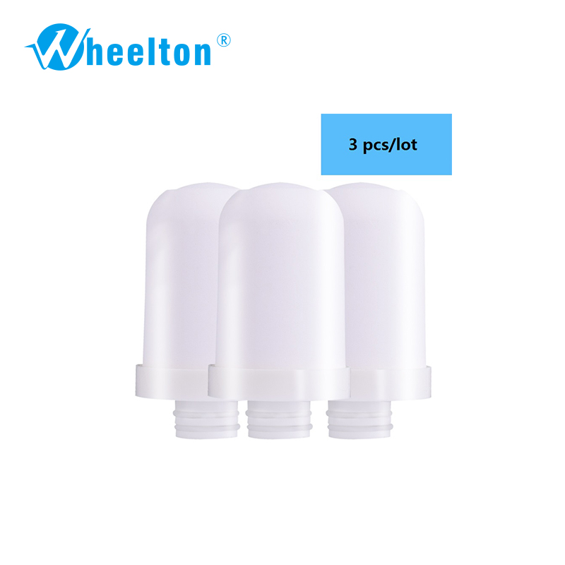 Wheelton Brand High Quality  Filter cartridges element for  Water filter faucet  LW-89  Water purifier 3pcs/lot Free shipping цена