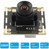 100 Degree No Distortion Lens High Speed 30fps 60fps 120fps Webcam HD 1080P Android Linux Windows
