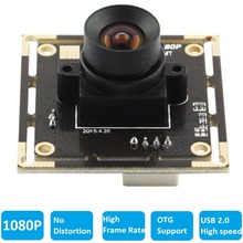 1080P USB Webcam High Speed No distortion Lens CMOS 2MP Full HD Mini USB 2.0 Camera Module For Android,Linux ,Windows,MAC OS