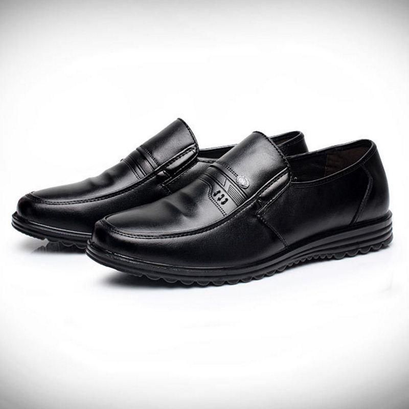 Robe Découpes De Hommes Réunion Chaussures Bureau Aa51556 Solide Formelle Mâle Oxford Confortable Noir Homme Slip Couleur Mariage marron on xn8E4AqBw