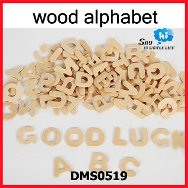 Wholesale 832pcs 8packs Kids Wooden Cute Alphabet Letters Learning