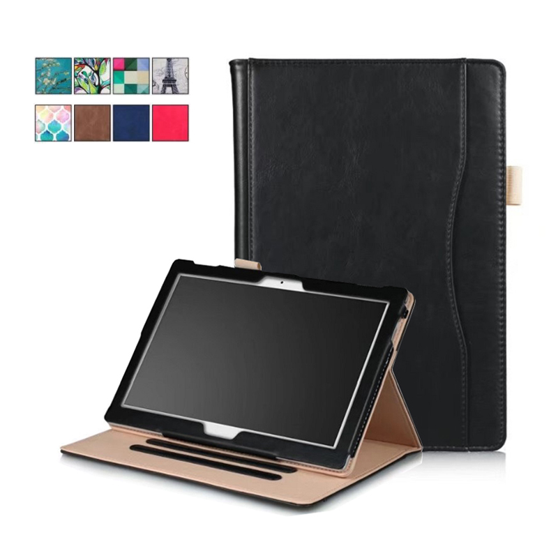for Lenovo TAB 4 10 Plus TB-X704F TB-X704N Case Flip Stand Smart PU Leather Sleeve for Lenovo Tab4 10 inch Cover Case Card Slot ultra thin smart flip pu leather cover for lenovo tab 2 a10 30 70f x30f x30m 10 1 tablet case screen protector stylus pen