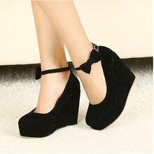 2016ผู้หญิงรองเท้าfeminino sapatoร้อนขายรองเท้าส้นสูงปั๊มแพลตฟอร์มแฟชั่น3สีรองเท้าผู้หญิงรองเท้าส้นสูง