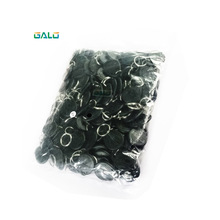 100pcs/bag 125Khz RFID Tag Proximity Keyfobs Ring Access Control Card 6 Colour for Reader
