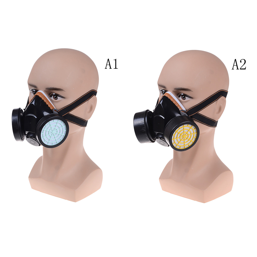 Personal Health Care Precise Black Gas Mask Emergency Survival Safety Respiratory Gas Mask Anti Dust Paint Respirator Mask With 2 Dual Protection Filter Back To Search Resultsbeauty & Health