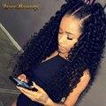 180% Density 360 Lace Wigs Brazilian Virgin Deep Wave Full Lace Human Hair Wigs For Black Women 360 Lace Front Human Hair Wigs