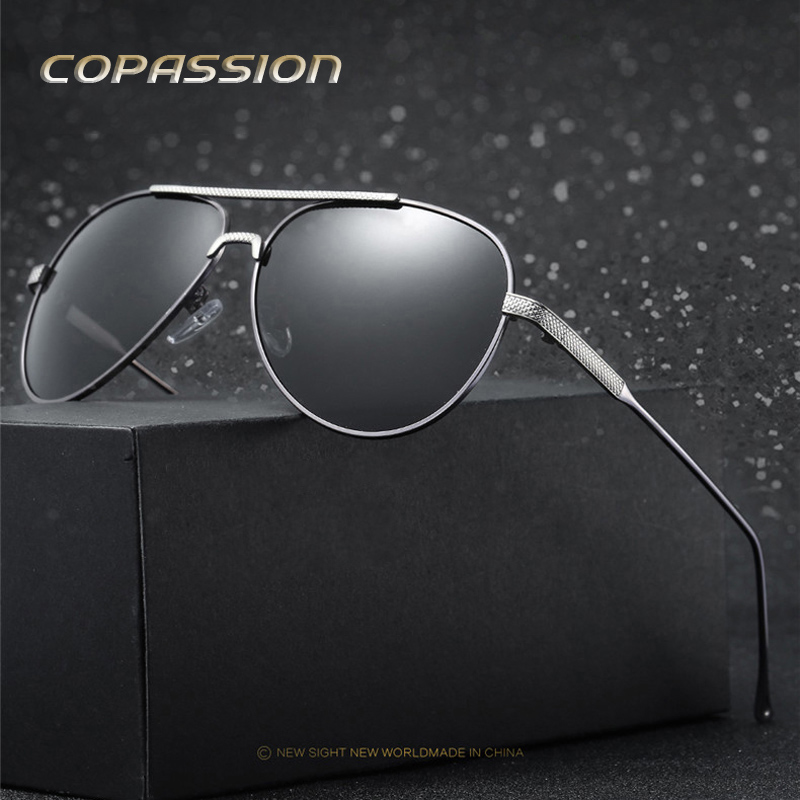 Polarized sunglasses men luxury brand Alloy Frame Driving sun glasses driver Goggles uv400 Eyewear oculos masculino gafas de sol