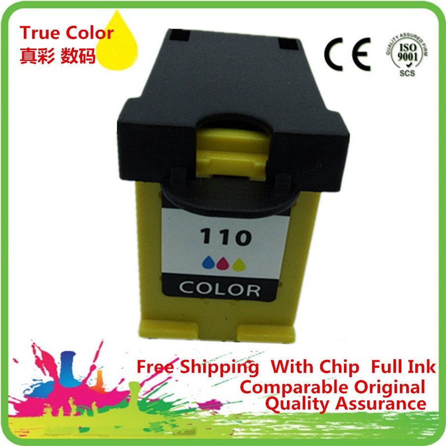 Ink Cartridge Remanufactured For 110 XL 110XL <font><b>HP110</b></font> HP110XL Photosmart A441 A446 A510 A610 A620 A626 Pro B8350 A520 A820 image
