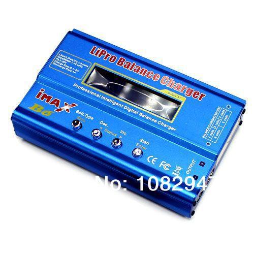 ФОТО Imax B6 Multi function LiPO NiCd/MH Lithum battery Balance Charger RC 2-6S Cell