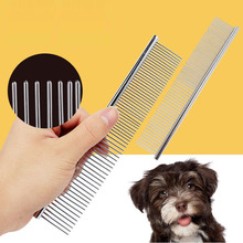 Silver Stainless Steel Pet Hair Comb for cats dog Brush hair Remover cat Comb, Durable Cat Grooming Tool For Long Hair Dogs Cats pet hair deshedding dog cat brush comb sticky hair gloves hair fur cleaning for sofa bed clothe pets dogs cats cleaning tools
