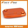 ЧПУ Передняя Тормозная Жидкость Водохранилище Колпачок, Пригодный Для KTM SX SXF SMR EXC-F EXC XC XC-W 125 144 150 250 300 350 400 450 530