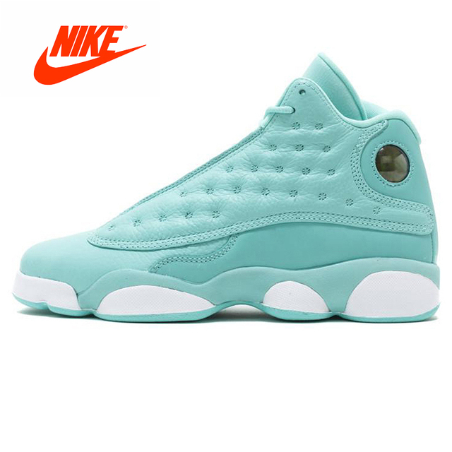reputable site ebecc efde3 Original New Arrival Authentic Nike Air Jordan 13 Retro GS Whatis Love  Women s Basketball Shoes Outdoor Sneakers Good Quality