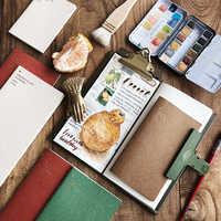 Standard/Pocket/Passport Notebook Dot Grid Stitching Inner Pages Diary Journal Traveler's Refill Planner Organizer Filler Paper
