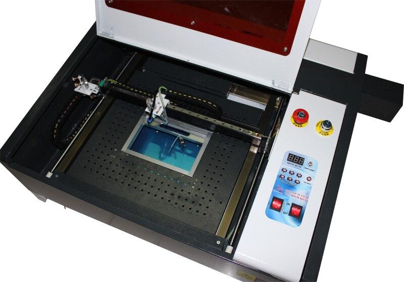 Desktop LY laser 4040 50 W Hohe Geschwindigkeit CO2 Laser schneiden fräsen Gravur Maschine Arbeit Größe 400*400mm