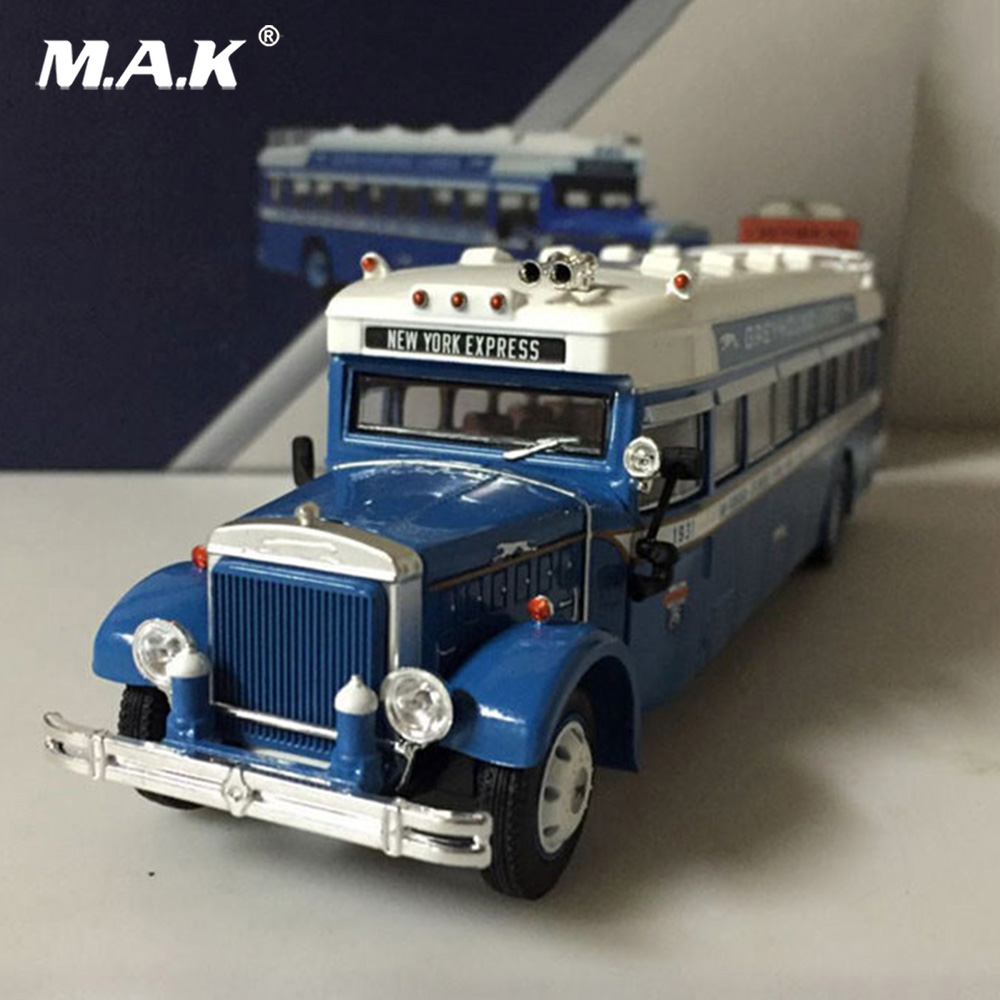 Diecast 1/50 Diecast Car Model Toy 1931 Mack 6-BK-3S Motorcoach Greyhound Lines Bus Kids Toys Collection Gift 704201 000 [ data bus components dk 621 0438 3s]