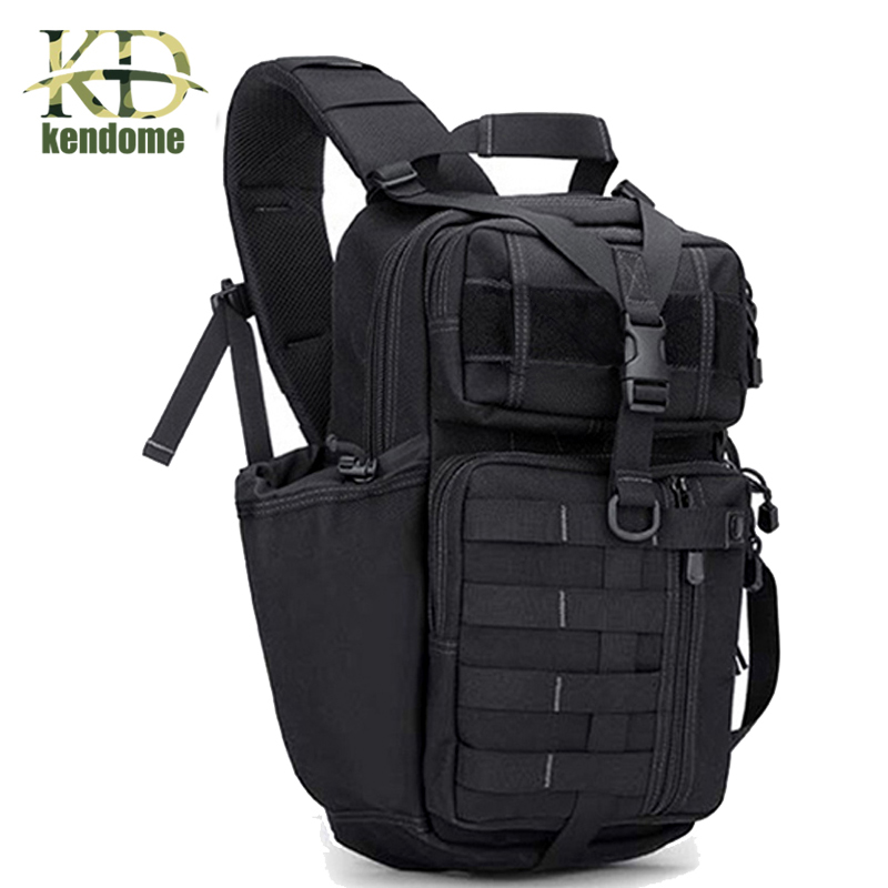2018 Top Quality Outdoor Sports Tactical Backpack For Camping Hiking Climbing Men's Backpack Nylon Bag Double Shoulder Bag tactical outdoor double shoulder backpack bag army green