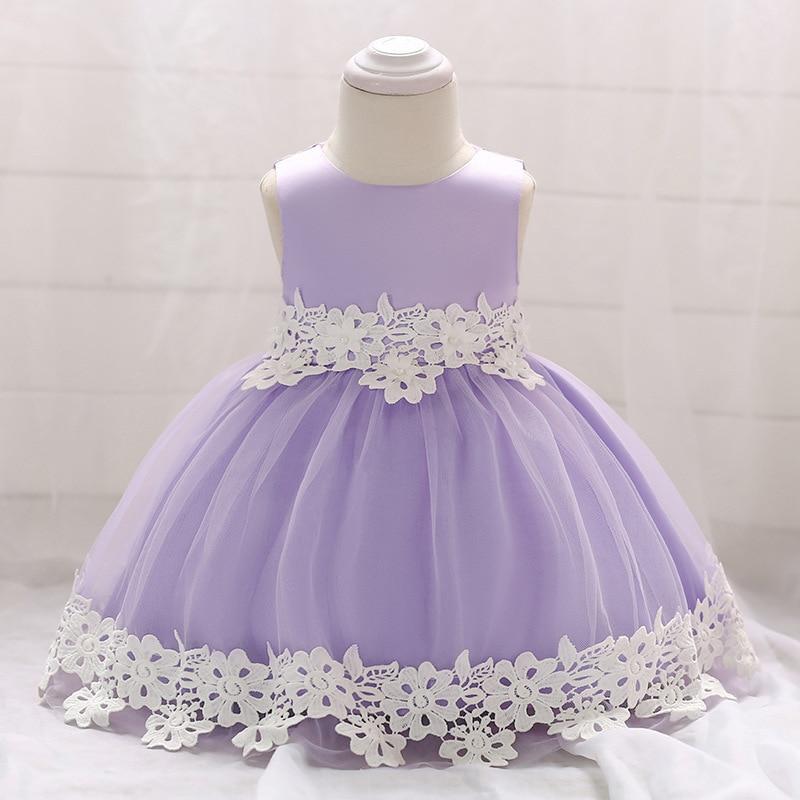 vestido infantil 2018 Summer Baby Girls Princess Dress For Girls Party Dresses Infant 1 Year Birthday Dress Newborn Baby Clothes
