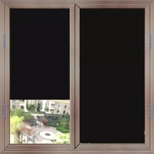 60*400cm Blackout Window Cover Film Glass Stickers Anti-UV 100% Light Blocking Privacy Static Frosted Tint Room Decorative