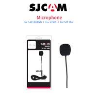 100 Original SJCAM Accessories Long External Microphone MIC For SJCAM SJ6 LEGEND SJ7 Star SJ360 Sports