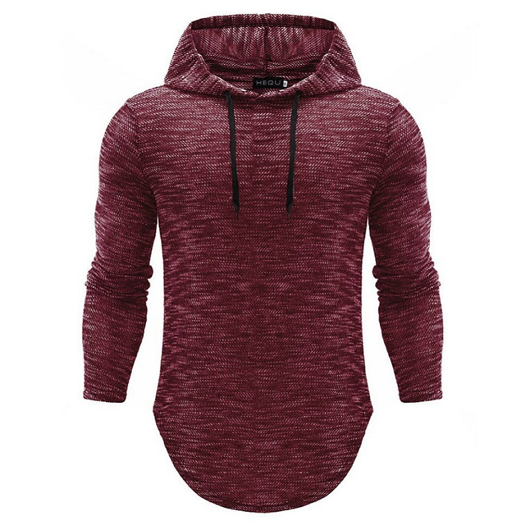 Top Tees Hooded Men Shirt High Quality 2018 New Arrival Long Sleeve T Shirt Men Slim Fit Hooded T-shirts Pullover Hoodies Tops