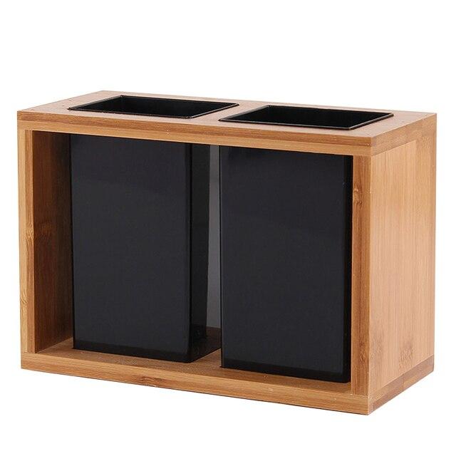 1 шт., бамбуковый органайзер для сушки столовых приборов