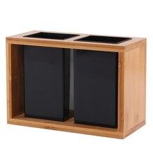 1Pc Flatware Tableware Drying Bamboo Storage Organizer Shelf Holder for Spoon Fork Knife Chopsticks Kitchen Utensils