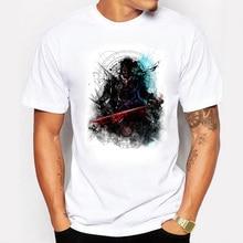 The Fashion Vampire Warrior Men T Shirt White Summer Cotton Game Throne Swag O neck Cooper