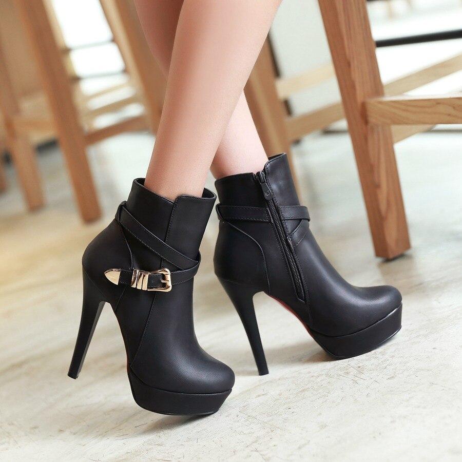 Online Get Cheap Women Winter Dress Boots -Aliexpress.com ...