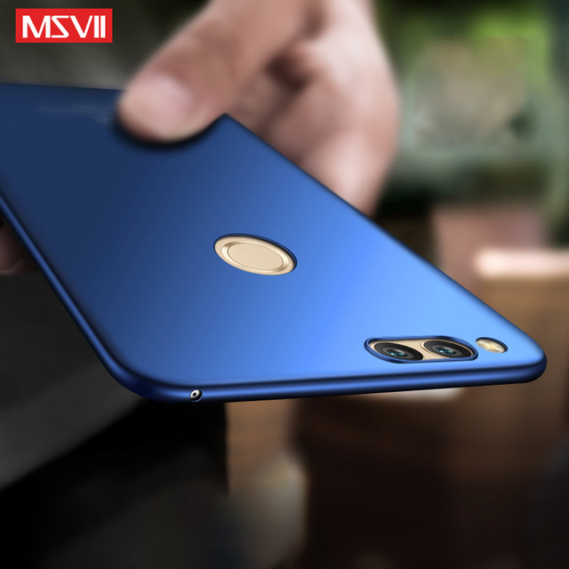 new concept f94c7 a4cbb US $5.61  Msvii 360 Full Case For Huawei Honor 7x Case Luxury Hard Frosted  PC Back Cover Case for Huawei Honor 7x Protection coque Capa-in Fitted ...