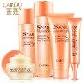 LAIKOU Caracol Nutrición 5-piece set envío gratis mujeres cuidado de la cara Esencia extracto de efectos Múltiples crema para Los Ojos Emulsión maquillaje