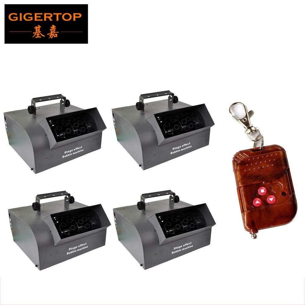 TIPTOP livraison gratuite 4 XLOT 150 W trois rouleaux à bulles 2L réservoir d'huile professionnel haut rendement sans fil Machine à bulles fabricant 110 V-240 V
